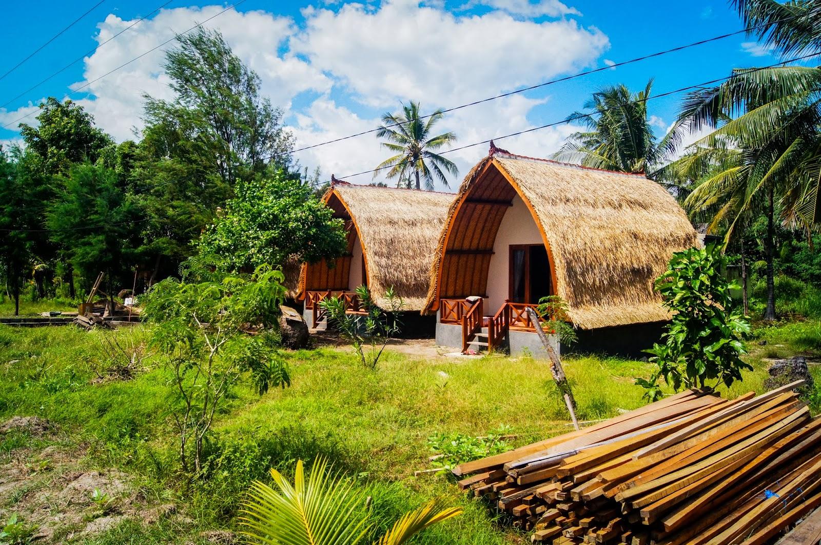 Hotel cabaña de las Gili Islands