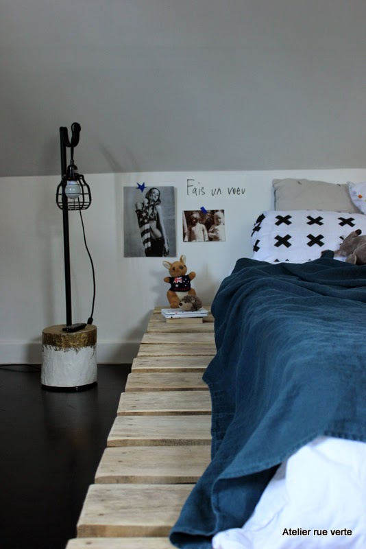 Chambre de Philippine / Photos Atelier rue verte, le blog /