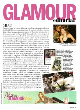 Reseña de BRIDA BAILARINA en la Revista GLAMOUR