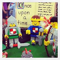 southern bricks lego show - giant minifigs