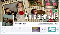 Página Gláucia em Arte no facebook