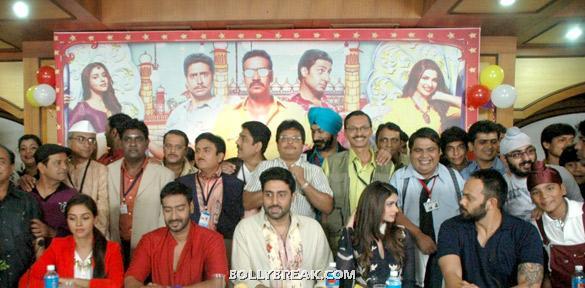 Asin, Ajay Devgan, Dilip Joshi, Shailesh Lodha, Abhishek Bachchan, Prachi Desai, Rohit Shetty - (10) -  Asin, Prachi Desai Bol Bachchan Stills