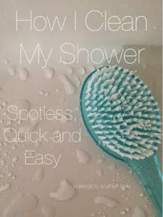 http://prairiegirltosouthernbelle.blogspot.com/2014/03/how-i-clean-my-shower.html