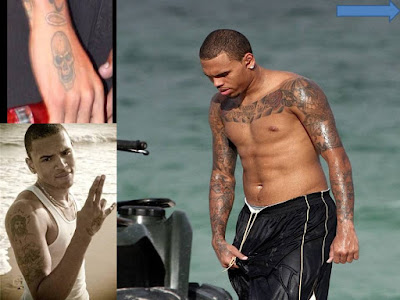 Chris Brown Tattoos