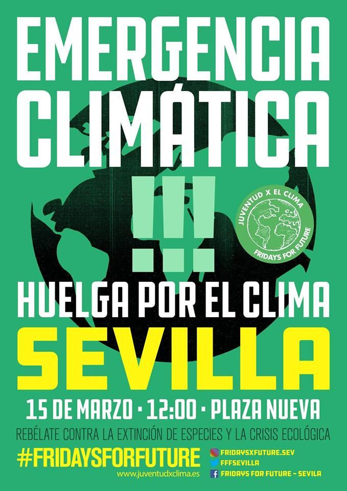 15 DE MARZO: MOVILIZACIONES POR LA EMERGENCIA CLIMÁTICA