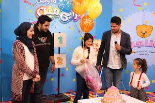 لين الصعيدي تحتفل بميلادها العاشر