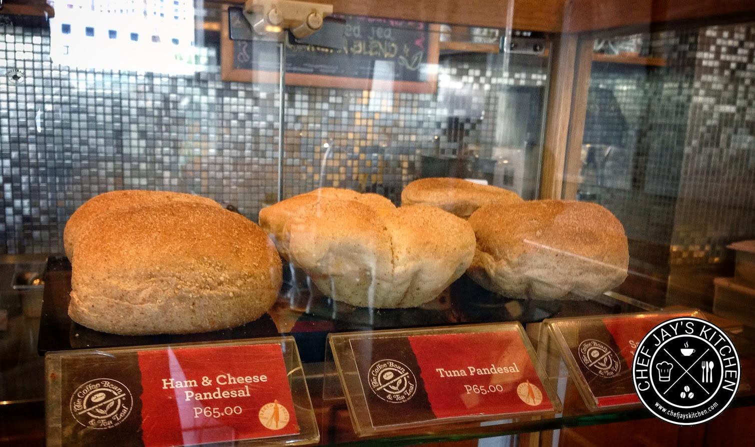 Coffee Bean & Tea Leaf Philippines - CBTL Tuna, Ham & Cheese Pandesal