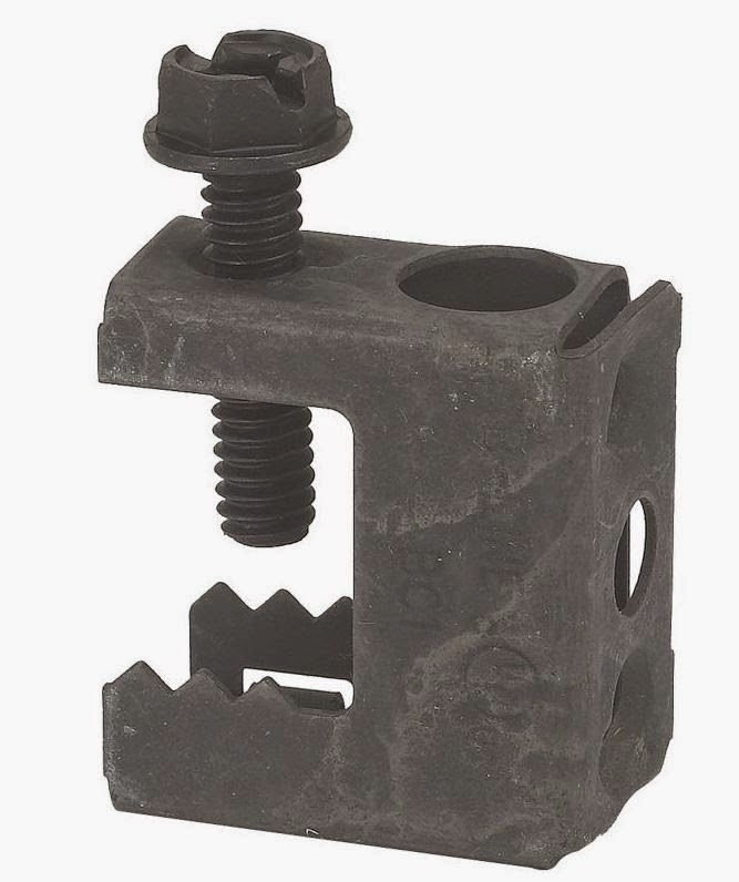 Insulated Ground Clamps : Safety alert at oil rig platforms misuse of beam clamps