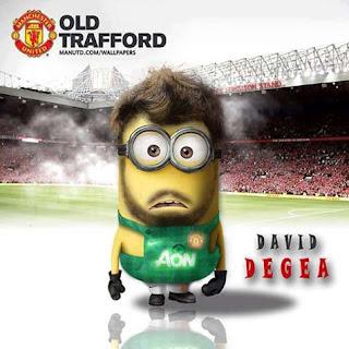 Minion David De Gea