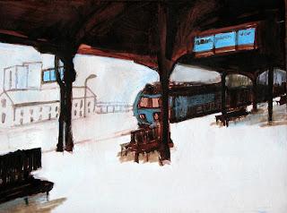 Железнодорожная живопись