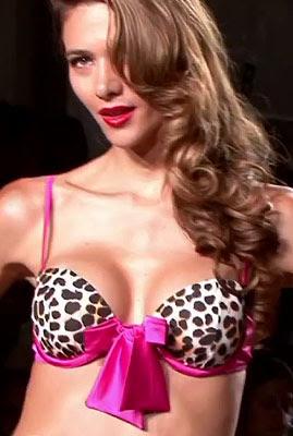 Bikini top pink masnival