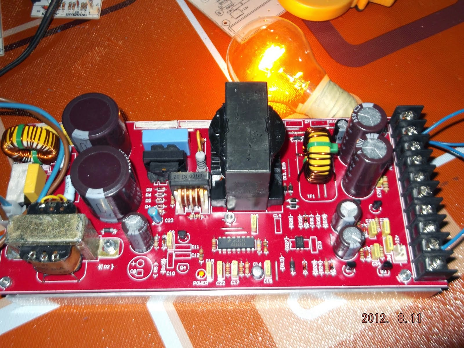 SMPS for Audio Amplifier