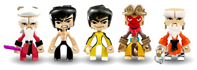 Round 5 x Bruce Lee x MAD Temple of Kung Fu Blind Box Series