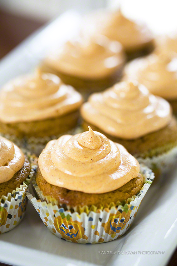 ... to the Cream Cheese Frosting to promote the pumpkin and Fall season