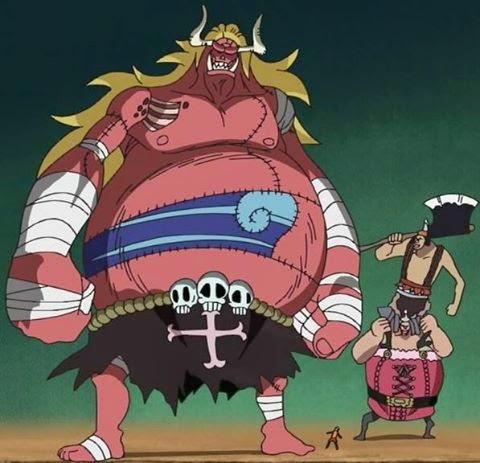 Jenis-jenis raksasa di anime ONE PIECE