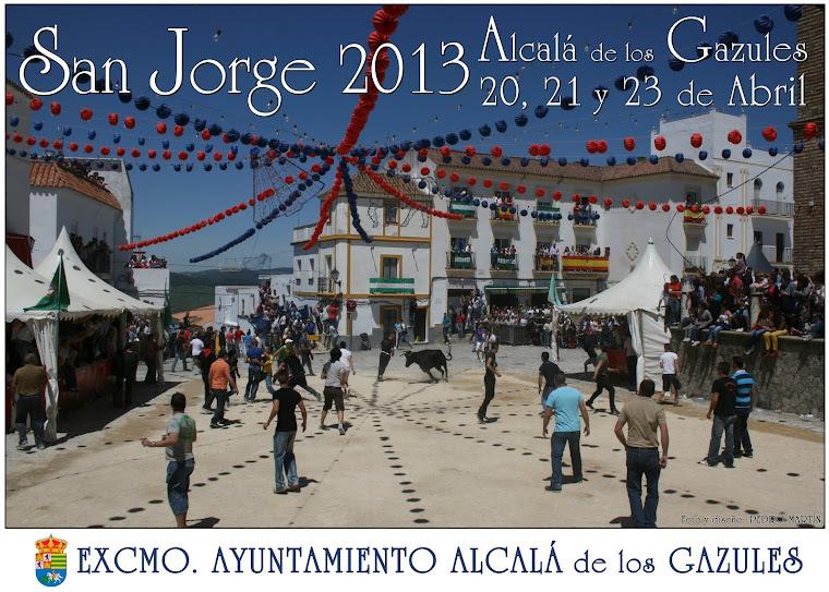 SAN JORGE 2013 (ALCALÁ DE LOS GAZULES)