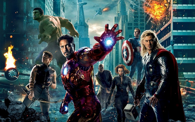 Мстители, Ник Фьюри, Халк, Капитан Америка, Железный человек (Iron Man) Тони Старк (Tony Stark)