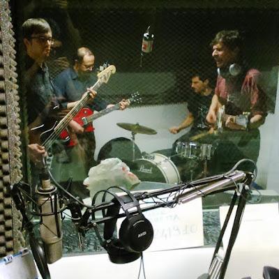 X-Ray Picnic live @ polaroid alla radio!
