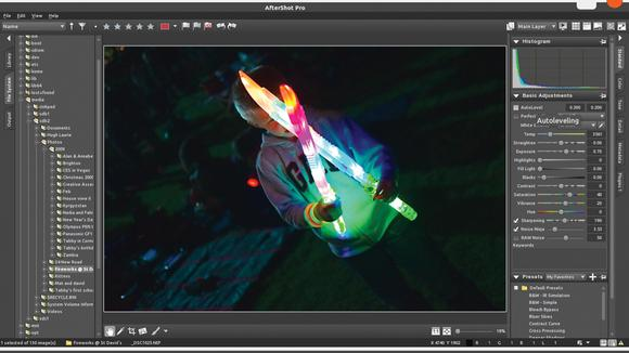 Corel aftershot pro professional photo editing software for linux
