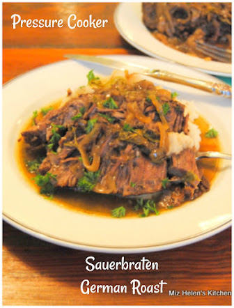 Pressure Cooker Sauerbraten German Roast