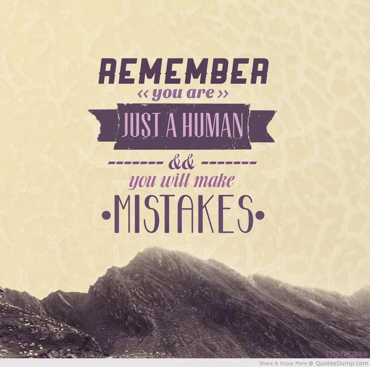 Past mistake