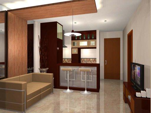 Interior Rumah Mungil Sederhana