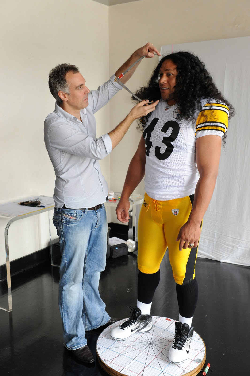 Uni Watch talks to Ben Roethlisberger other athletes about wearing