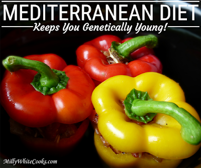 Fruits, vegetables, nuts and olive oil are  key ingredients in the  Mediterranean Diet