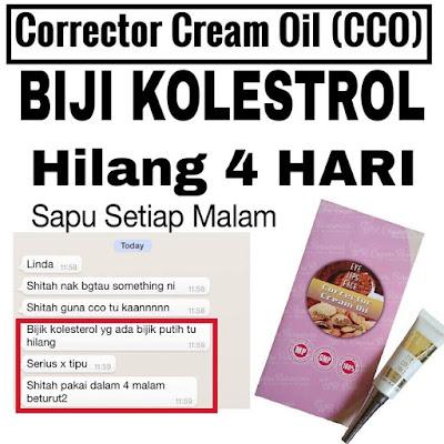 corrector cream oil