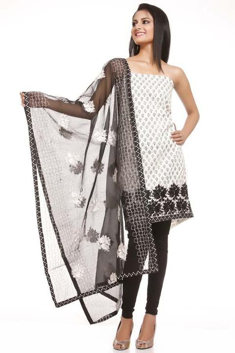 Chhabra555 Casual Pretty Dresses for Summer 2012 | Asian Clothes by Chhabra