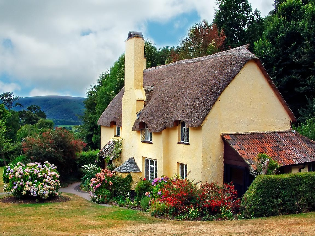 Thatched cottage selworthy wallpapers stocks - The thatched cottage ...