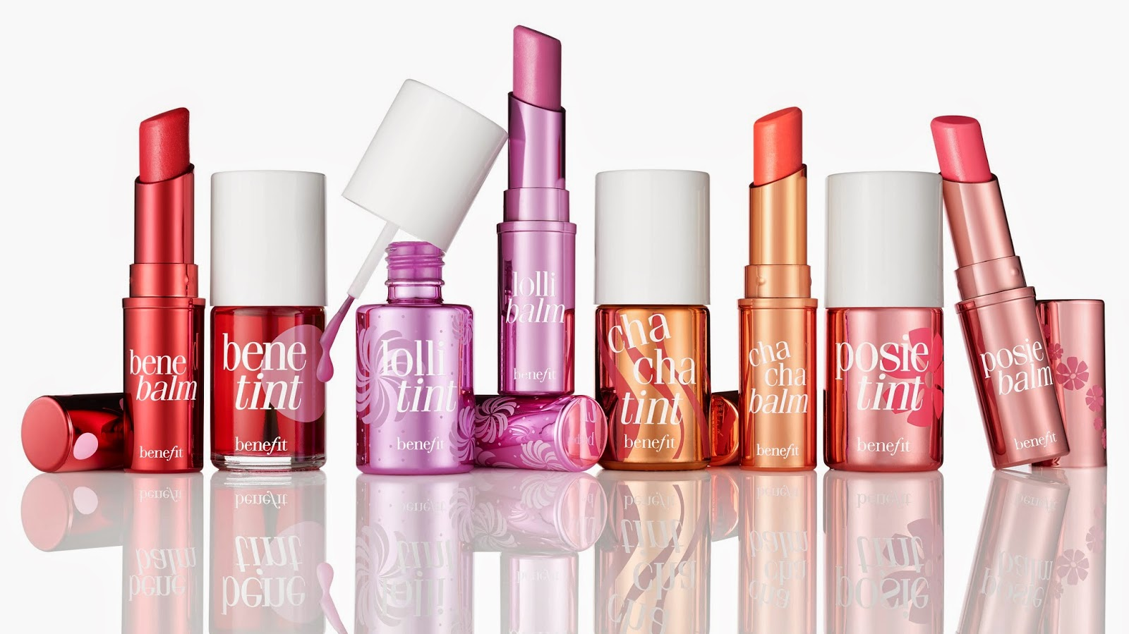 This June Benefit are launching their new hydrating lip balms to sit