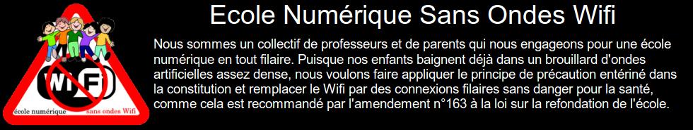 Ecole Numérique Sans Ondes Wifi - ENSOW