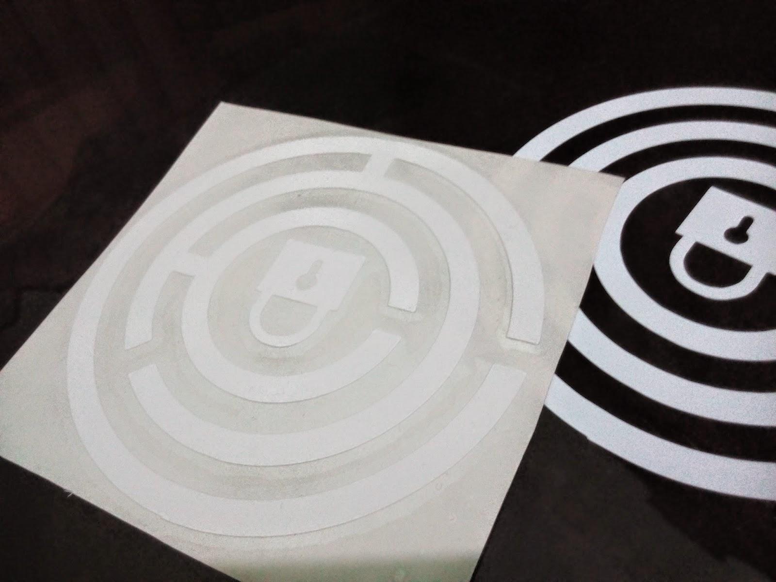 vinyl pro cut stickers