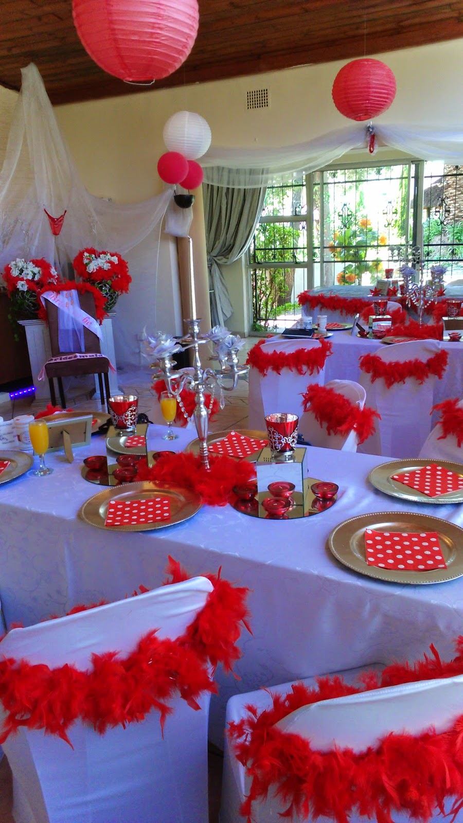 Bridal Shower Decorations, Venue, And Full Setup In Joh