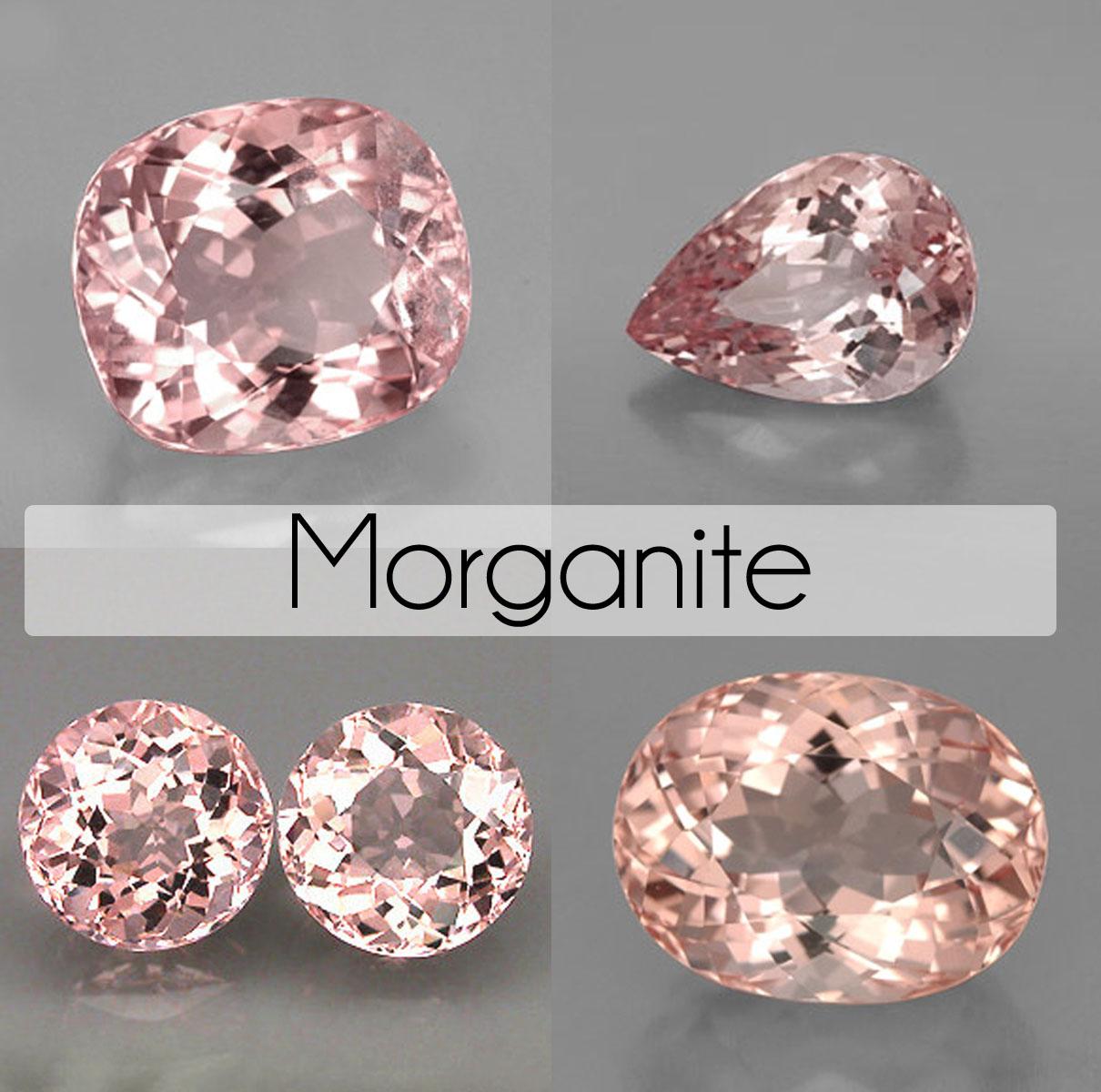 Pink Stone Wedding Rings 004 - Pink Stone Wedding Rings