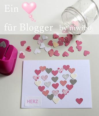 Ein Herz für Blogger - bei Niwibo