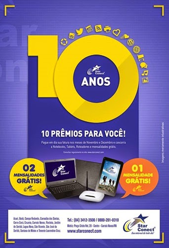 Star Conect - 10 anos