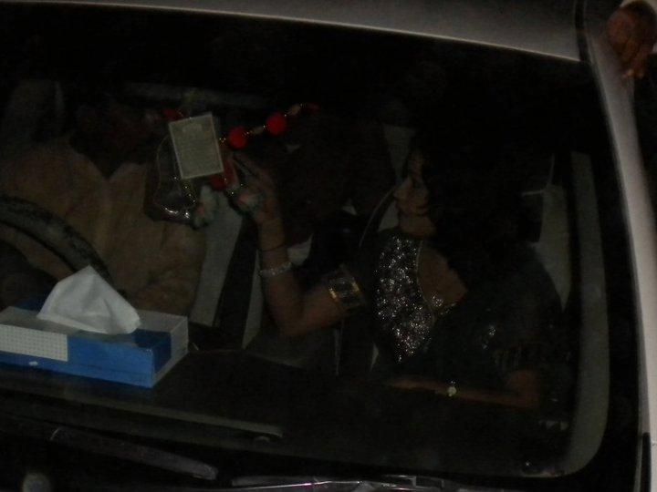 Sindhi SInger Nighat Naz Outing Night Photos