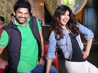 Priyanka shoots for her item number in Ram Leela