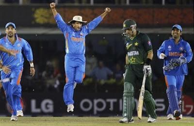 Sachin enjoying Victory