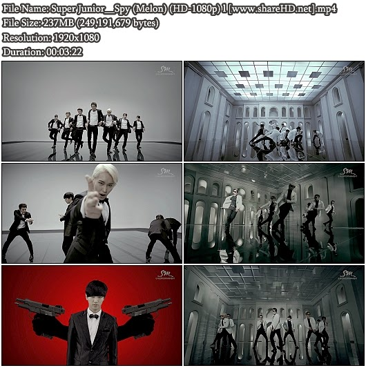 Download MV Super Junior - Spy (Melon Full HD 1080p)