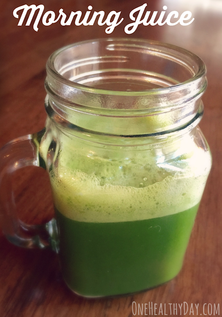 Healthy morning juice recipe
