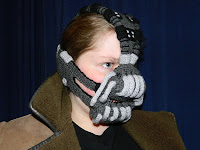 Bane, mask, The Dark Knight Rises, crochet, crocheted, Rose Pope, Etsy