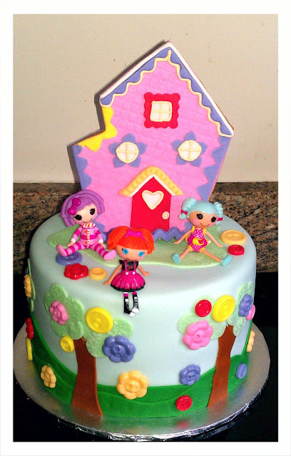 Cakes By Diana in Charlotte NC,: Lalaloopsy cake