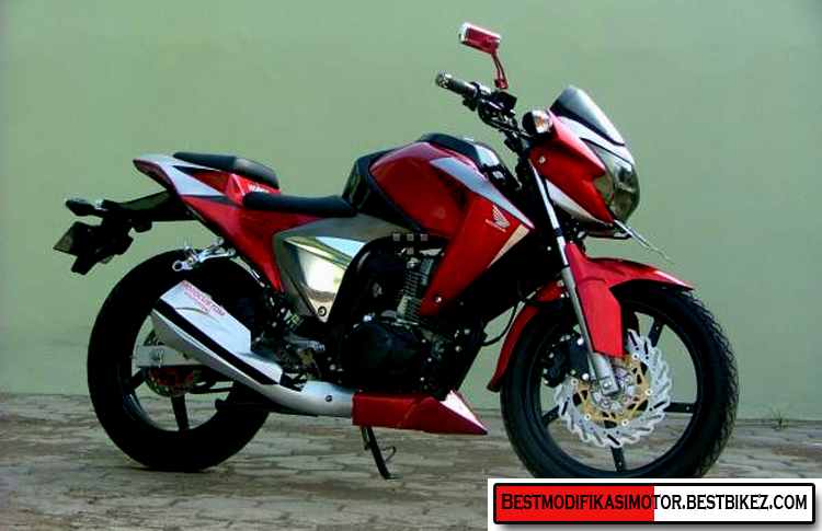 Spesifikasi Modifikasi Honda MegaPro Air Brush :
