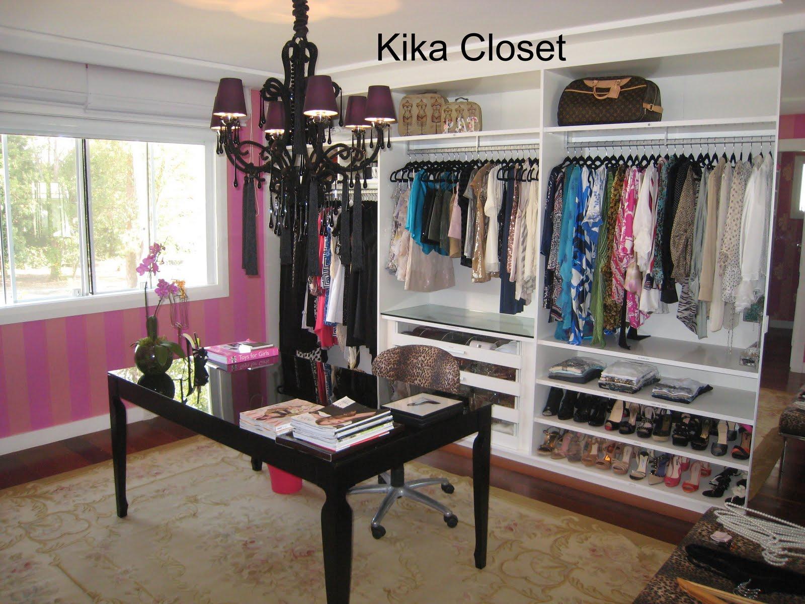 Aparador Pelo Wahl ~ Kika Closet Armário Feminino e Closet