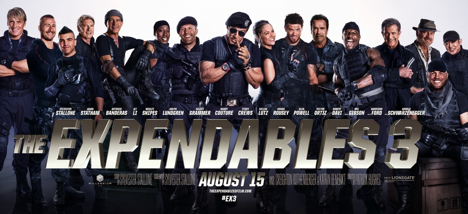 The Expendables 3 | Pelicula Trailer Antonio Banderas Knives