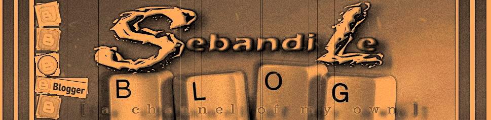 SEBANDI's BLOG