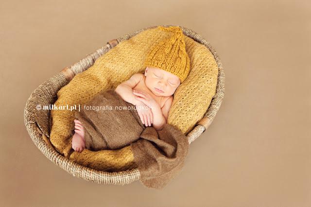 wełniane akcesoria do sesji zdjęciowych dla noworodków i niemowląt handmade czapki dla dzieci czapeczki na drutach
